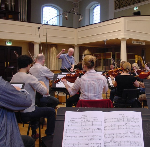 "KSO: Kensington Symphony Orchestra & London Oriana Choir, recording Sir Henry Walford Davies's cantata ""Everyman"" 