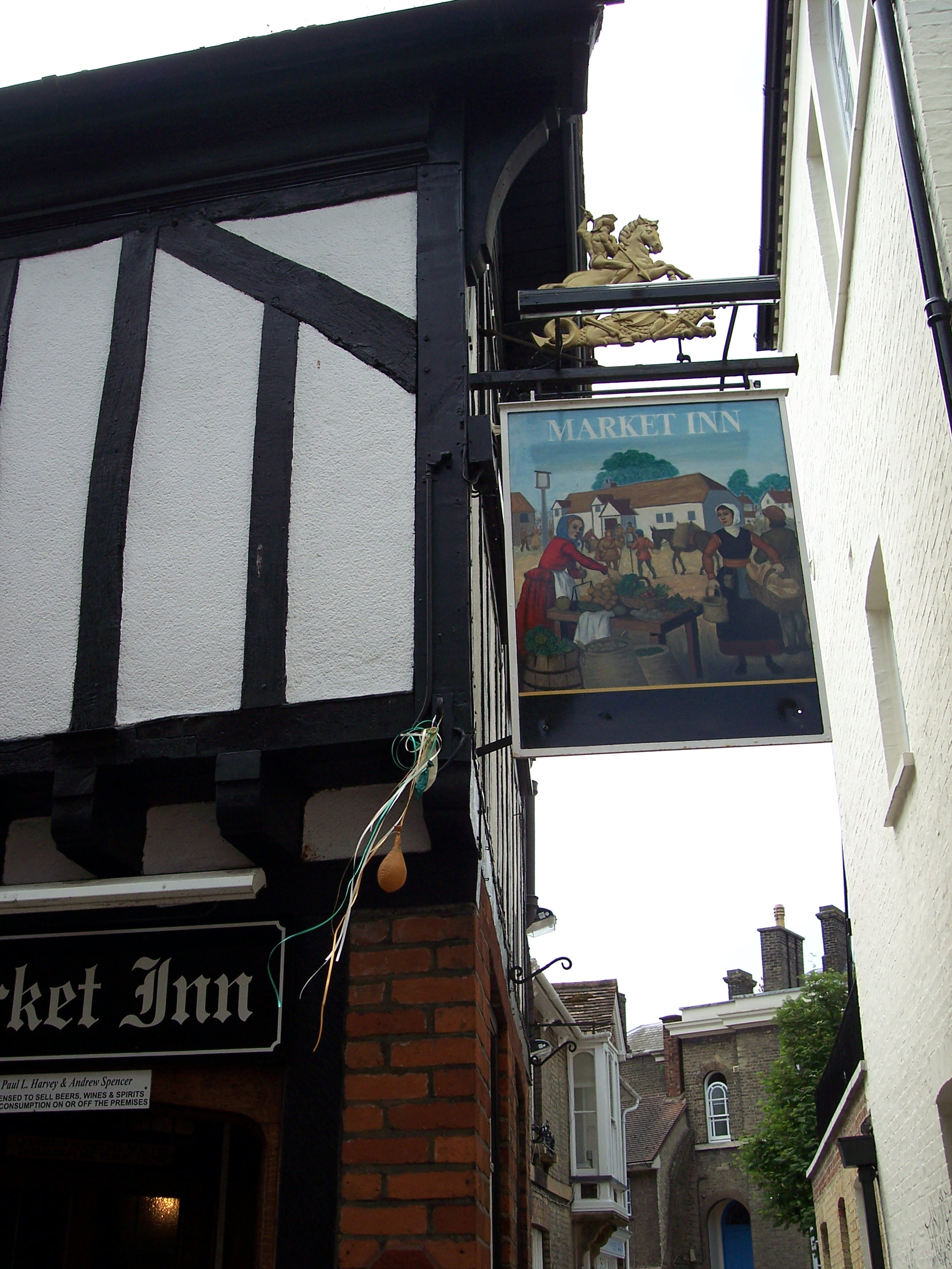 Oliver Cromwell was born in Huntingdon in 1599. He became Lord Protector in 1653, the head of a British republic. After leaving school Cromwell studied briefly at Cambridge before marrying and settling in Huntingdon. He later lived in St Ives and Ely.  The picture shows the town of Huntingdon  in Ma...