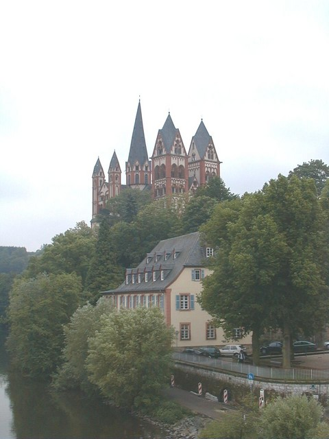 Limburg on the Lahn, Germany, half timbered houses, Limburg