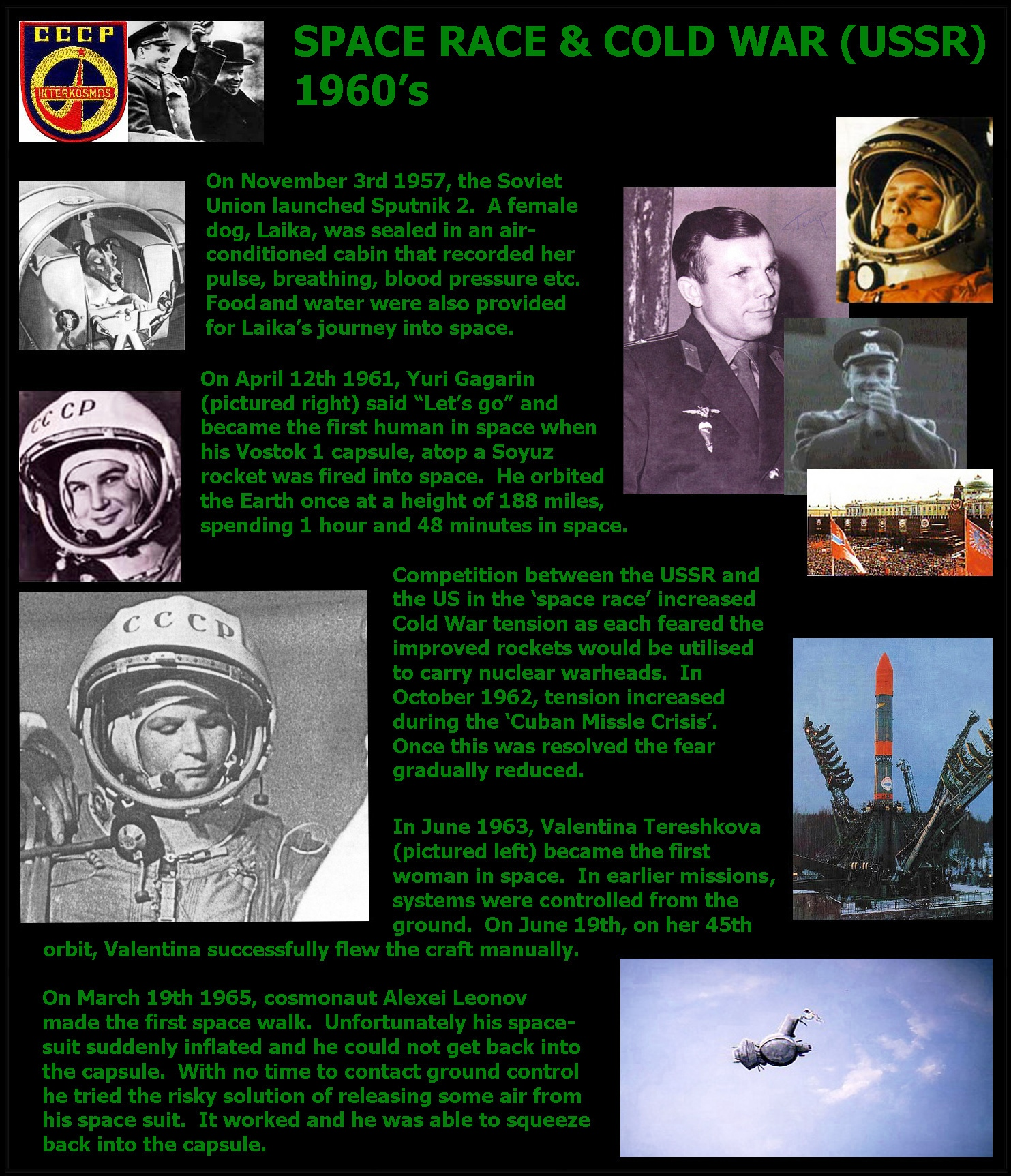 space race cold war essay Primary resources: the cold war general resources, cuban missile crisis, arms & space race, vietnam war, korean war, and berlin wall the cold war files this 1945) a seminal essay by an architect of the cold war science complex, bush proposes a computerized information management.