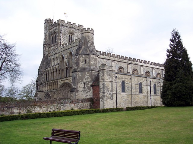 Part of the former Dunstable Priory, originally founded by Henry I.  The Priory was home to an order of �Black Canons� who ruled the town.  They possessed power of life and death, had their own priory gaol and sat as judges with the king's justices.  Many people were tired on a variety of crimes, in...