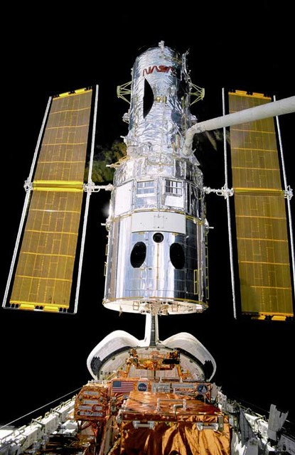 From the 1960's onwards the development of satellite telescopes has allowed humans to look deeper and deeper into space and has intensified the debate as to the possibility of alien life and contact with earth. The latest is the Hubble telescope shown in the picture. Launched in April 1990, the Hubb...
