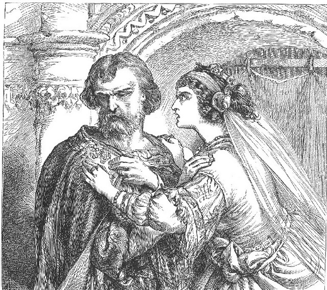 SCENE II. The palace.