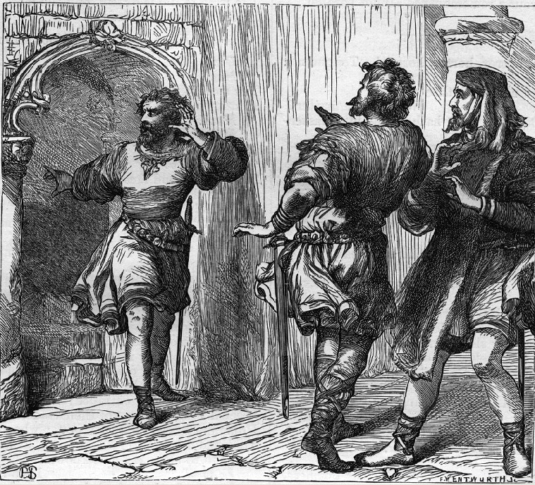 an analysis of malcolms final judgement of macbeth in the play by william shakespeare The final scene of the play in which macduff slays macbeth with critical notes and analysis no man ever saw deeper into the power and mystery of sin than shakespeare, but no man was ever more confident of the final victory of righteousness, and he gives evidence of his faith by closing even his.