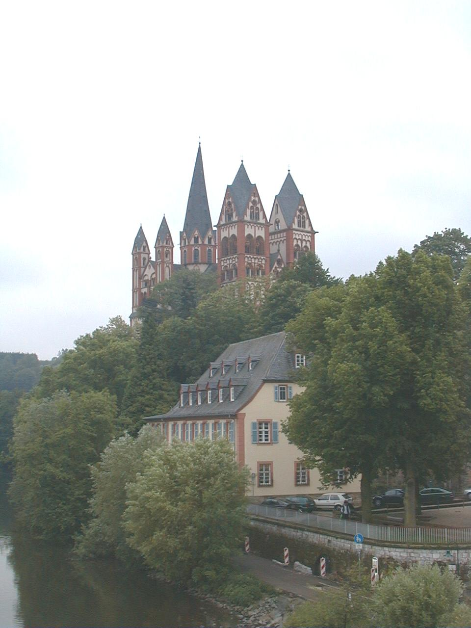 Limburg an der Lahn (Limburg on the Lahn river) is a small German town, the capital of the district Limburg-Weilburg in the west of Hesse. Population 35,500, geographical position 50��23�� N 8��4�� E . The city was first mentioned in 910.