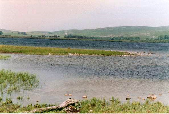 Some 2km from the cove is Malham Tarn. This is a small lake fed by streams from surrounding moorland.