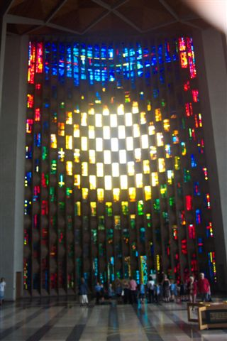 The Stained Glass Window Of Coventry Cathedral Nen Gallery