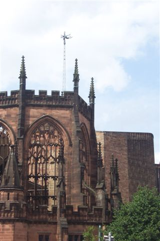 In 1539, with the dissolution of the monasteries, the See of Coventry and Lichfield was transferred to Lichfield and the former cathedral fell into decay. Only in 1918 was the modern diocese of Coventry created in its own right, and the church of St Michael designated as its cathedral.