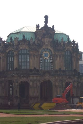 'Zwinger' is a short and rather unattractive name for a building that is anything but. It was originally constructed in the early 18th century for a Saxony prince (Dresden is the capital of Saxony). Zwinger was a supreme example of the Baroque architectural style popular at the time. Its bold design...