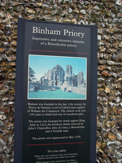 The history of the priory