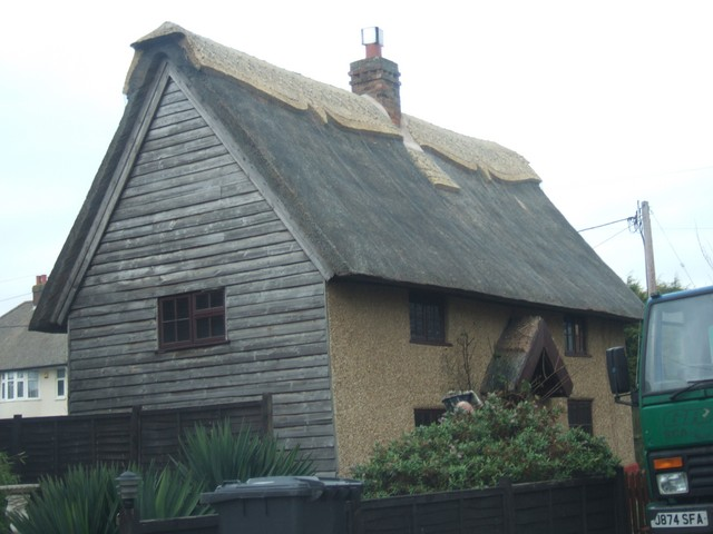 Cottages are still being thatched to this day.