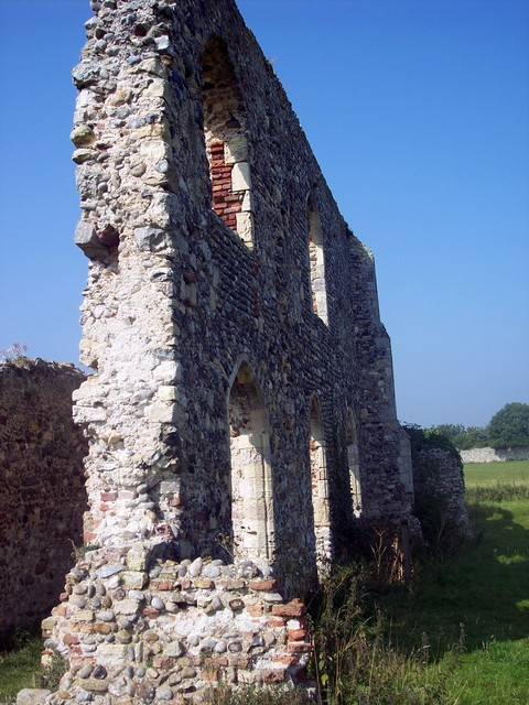 The old Priory may have been the ruin mentioned in the story where the little bell was found.