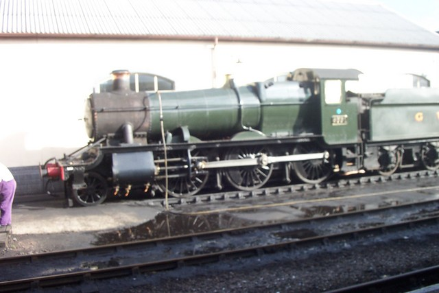 This steam engine runs on the west somerset railway from Minehead to Bishops Lideard througout the year