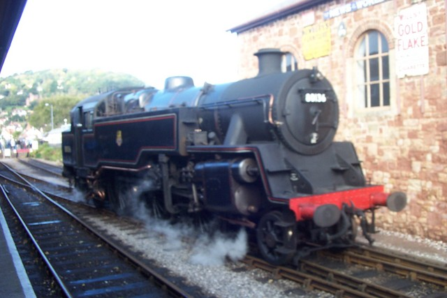 This Steam train opperates on the west somerset railway line all year round.