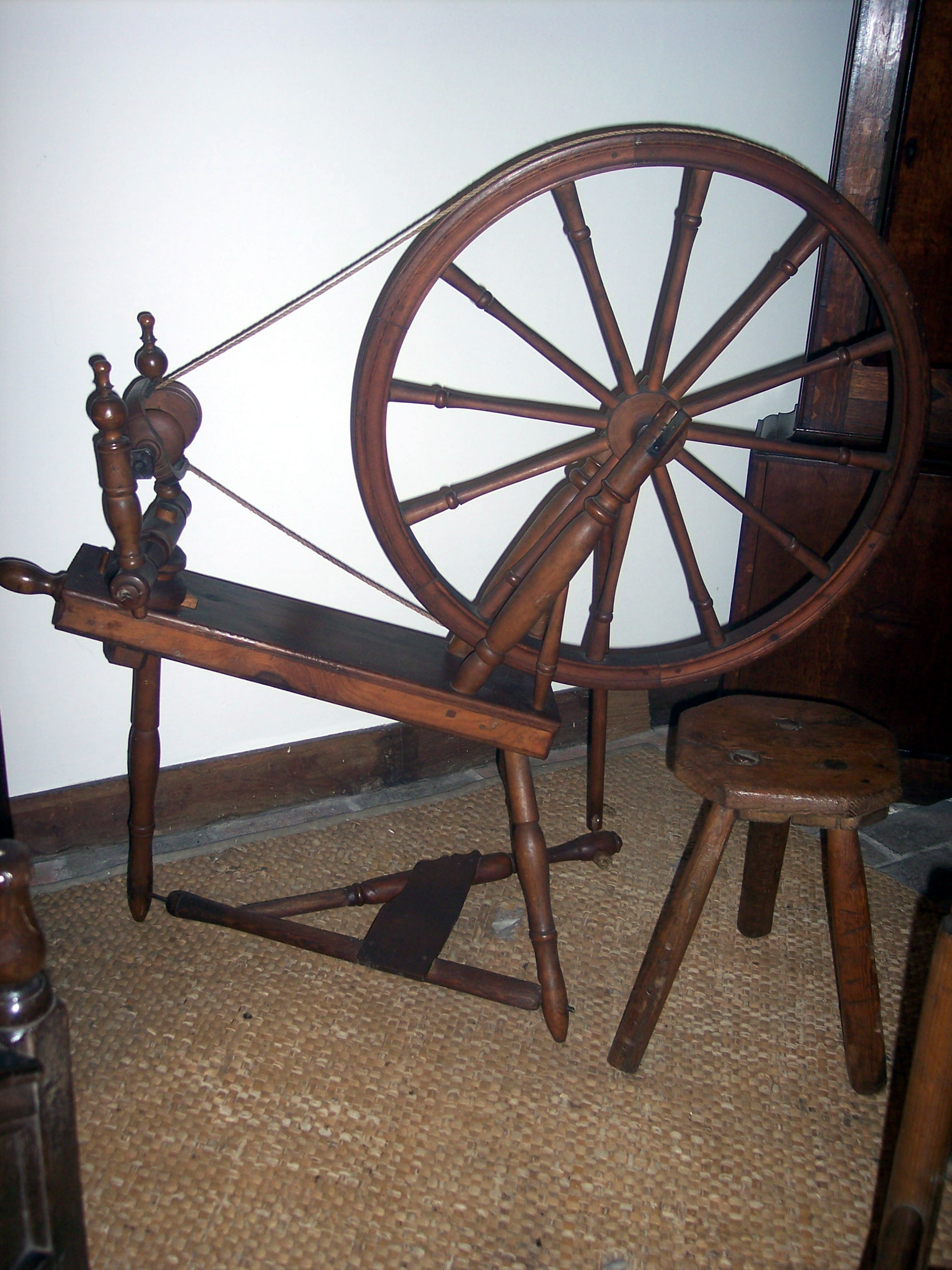 Myths and Legends Gallery Spinning wheel: