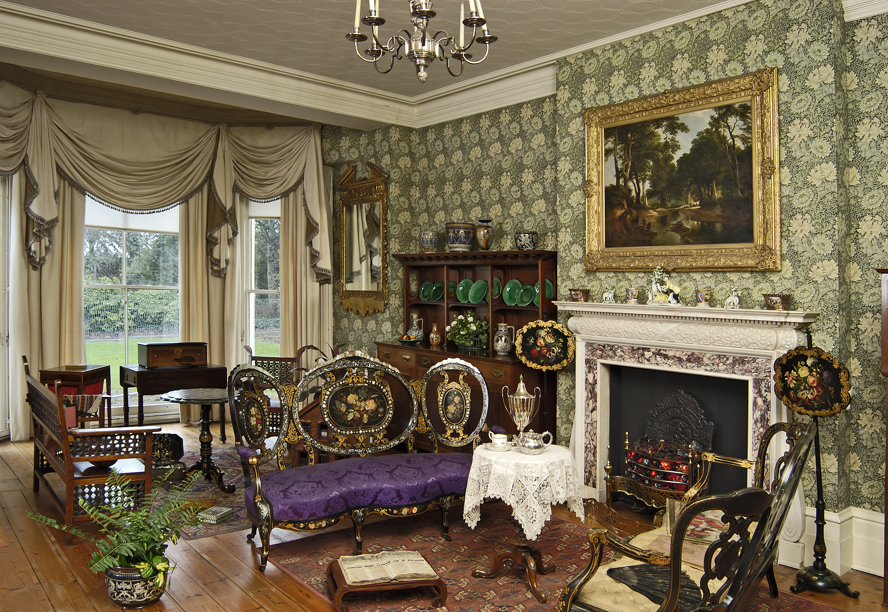 Inside A Rich Victorian House Nen Gallery