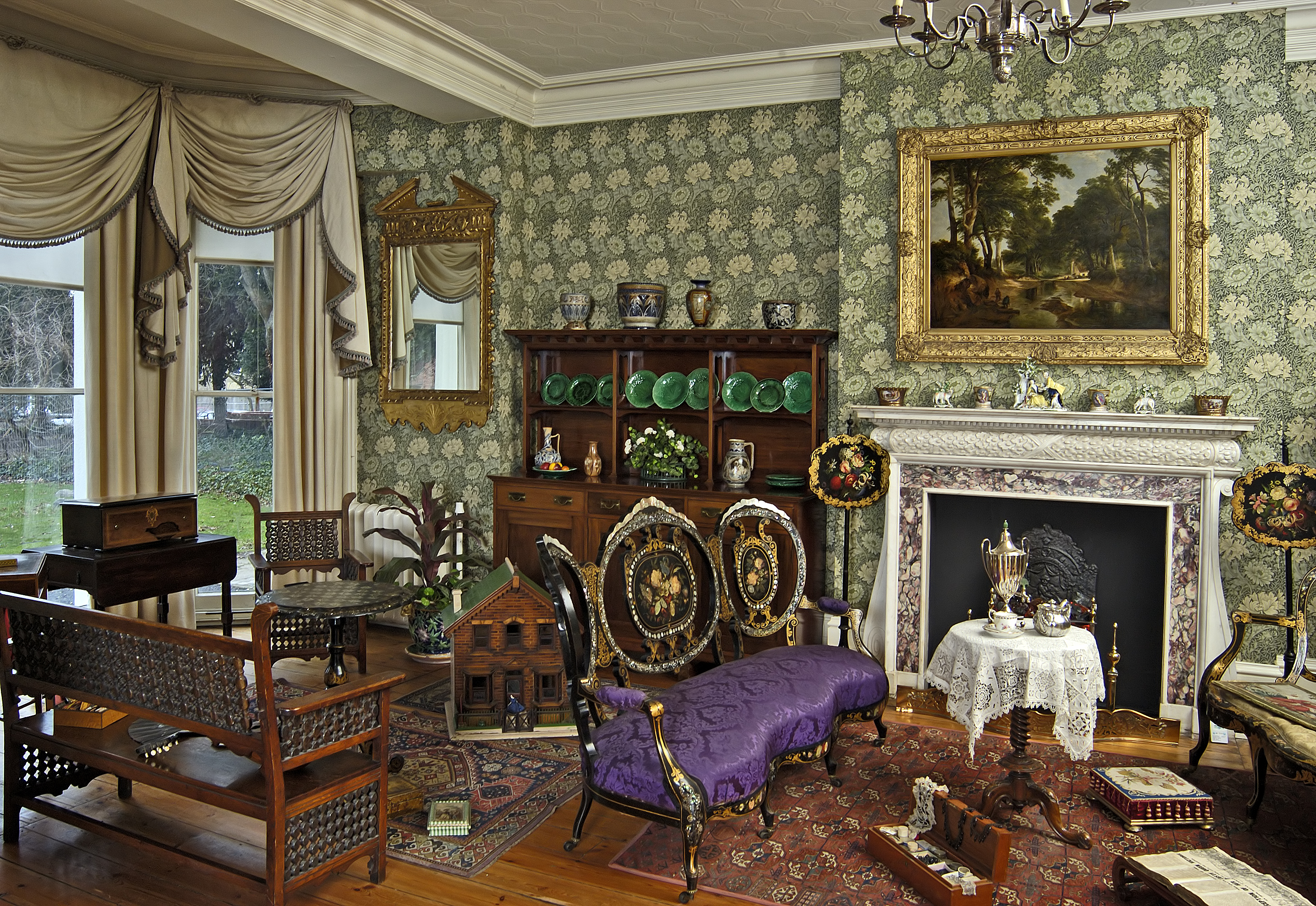 Victorian Drawing Room Design