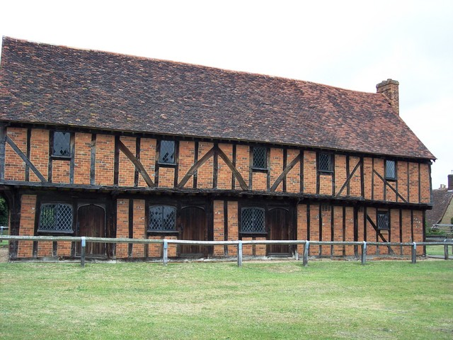 Elstow Moot Hall (or Green House as it was formerly known), located on Elstow Green, was built in the late 15th century as a market-house in connection with the village fairs. It was used for storing the stalls and other equipment and as a court house for hearing disputes arising from the fairs.