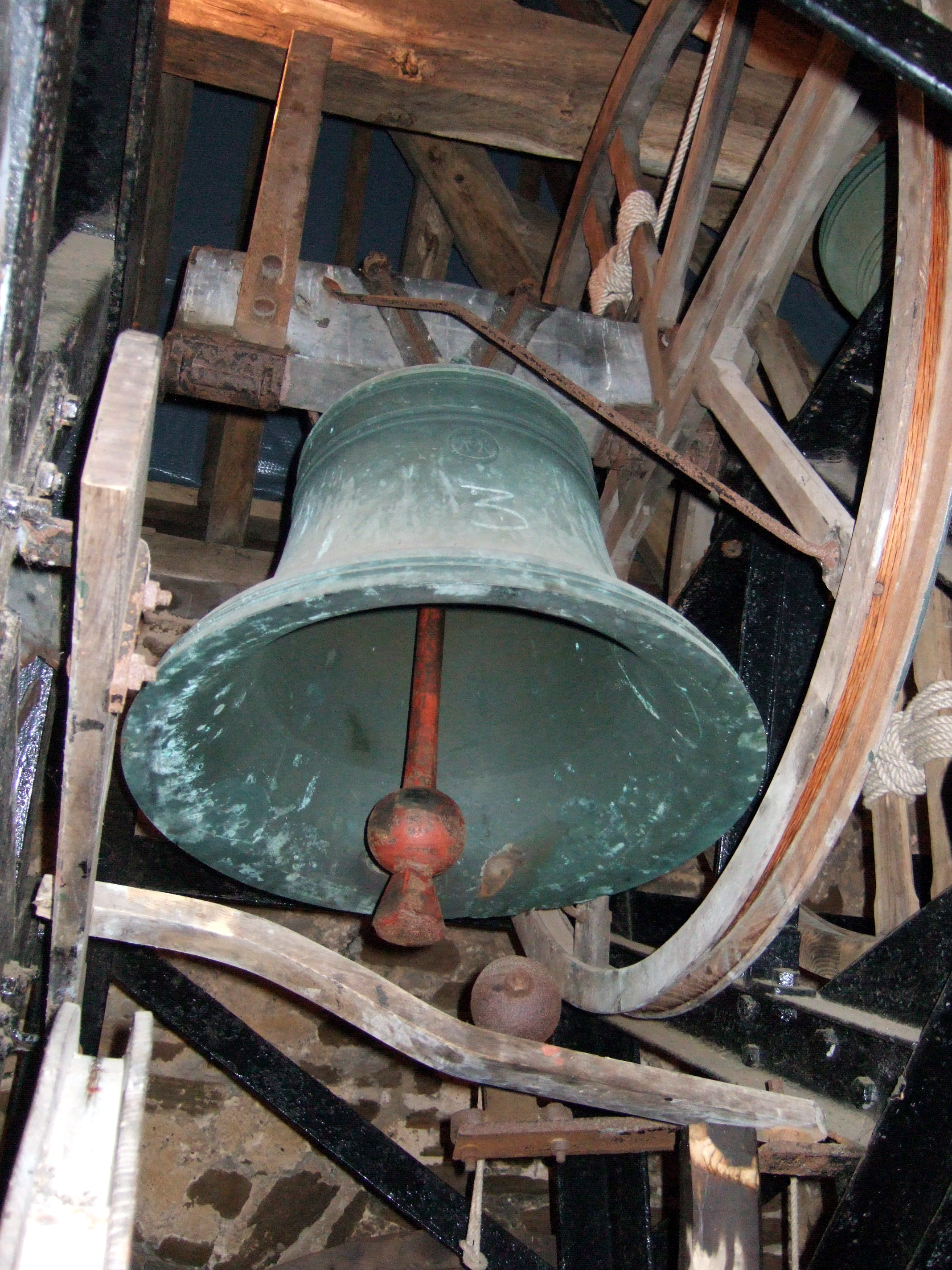 Bells have always been rung in times of joy and sorrow.  A peal of bells, for example, is rung at a wedding or celebration and a slow solemn ring at times of sadness.  Bells are often rung at the start of a church service. At Christmas they are traditionally rung in celebration of the birth of Chris...