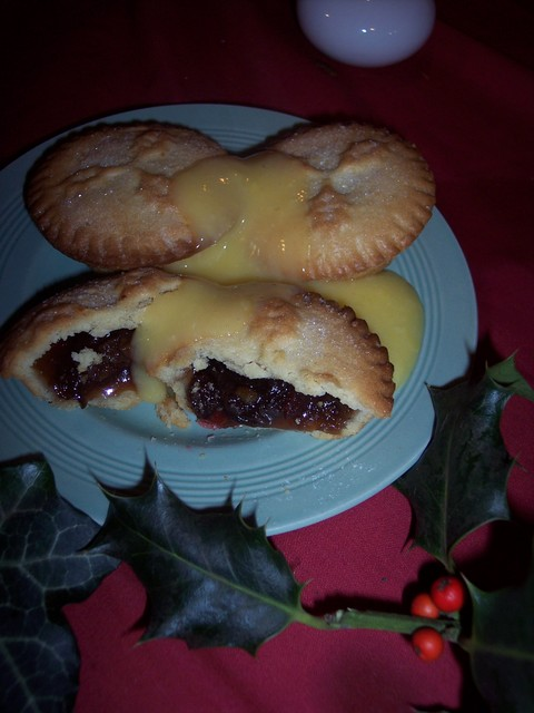 Today mince pies, are normally made in a round shape and filled with a mix of dried fruit.  They can be eaten hot or cold.  However like Christmas Pudding, they were originally filled with meat, such as lamb, rather than fruit. They were also first made in an oval shape to represent the manger that ...