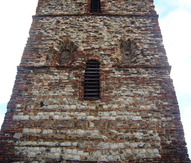 Holy Trinity church tower was built around 1000 AD. Its arrow head doorway and window apertures are typical of the Saxon period. The remainder of the church is of different periods up to Victorian. It is the oldest building in Colchester predating the castle.  During the Anglo-Saxon period many Roma...