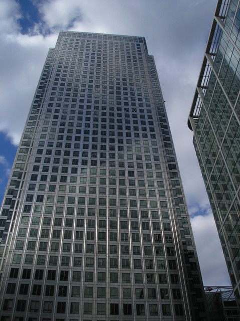 Photos of London old and new - Canary Wharf at Docklands and buildings in the City of london including St.Paul's, Tower Bridge and the 'Gherkin'.