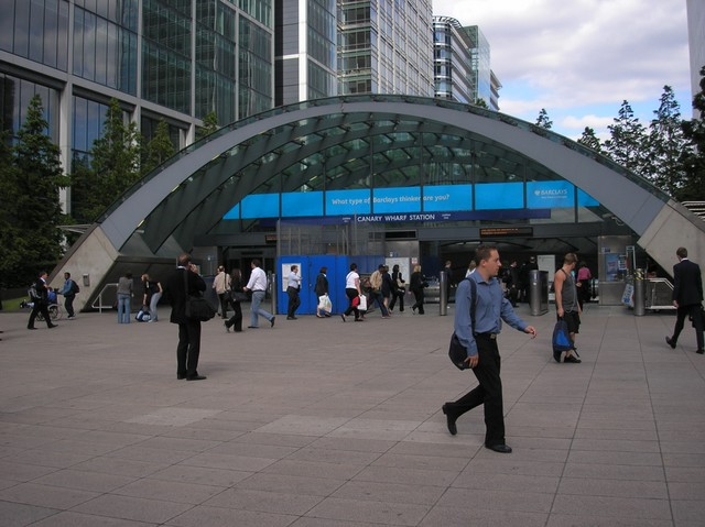 south west grid for learning trust canary wharf station