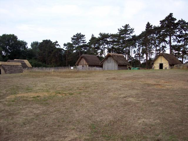 West Stow was an example of an early Anglo-Saxon village. This picture gives an impression of West Stow or Stowa (meaning place) may have been like. From around 450AD, it was home to three or four Anglo-Saxon families, their slaves and animals. Each of the families had a hall for meetings and houses...