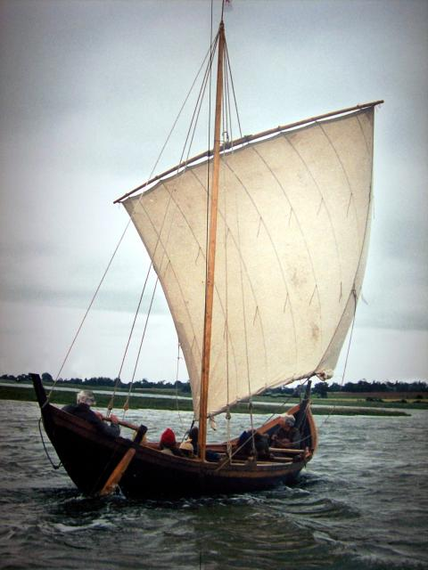 After Roman troops were withdrawn in 406, Anglo-Saxon pirates raided the south and east of England. From the 430's onwards boat loads of invaders rowed across the North Sea. The invaders were warriors and seafarers and included Angles from South Denmark, Saxons from their west and Jutes. This recons...