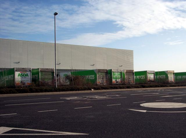 Warehouses on an industrial park near Kempston Bedfordshire. Picture taken 30th December 2006.