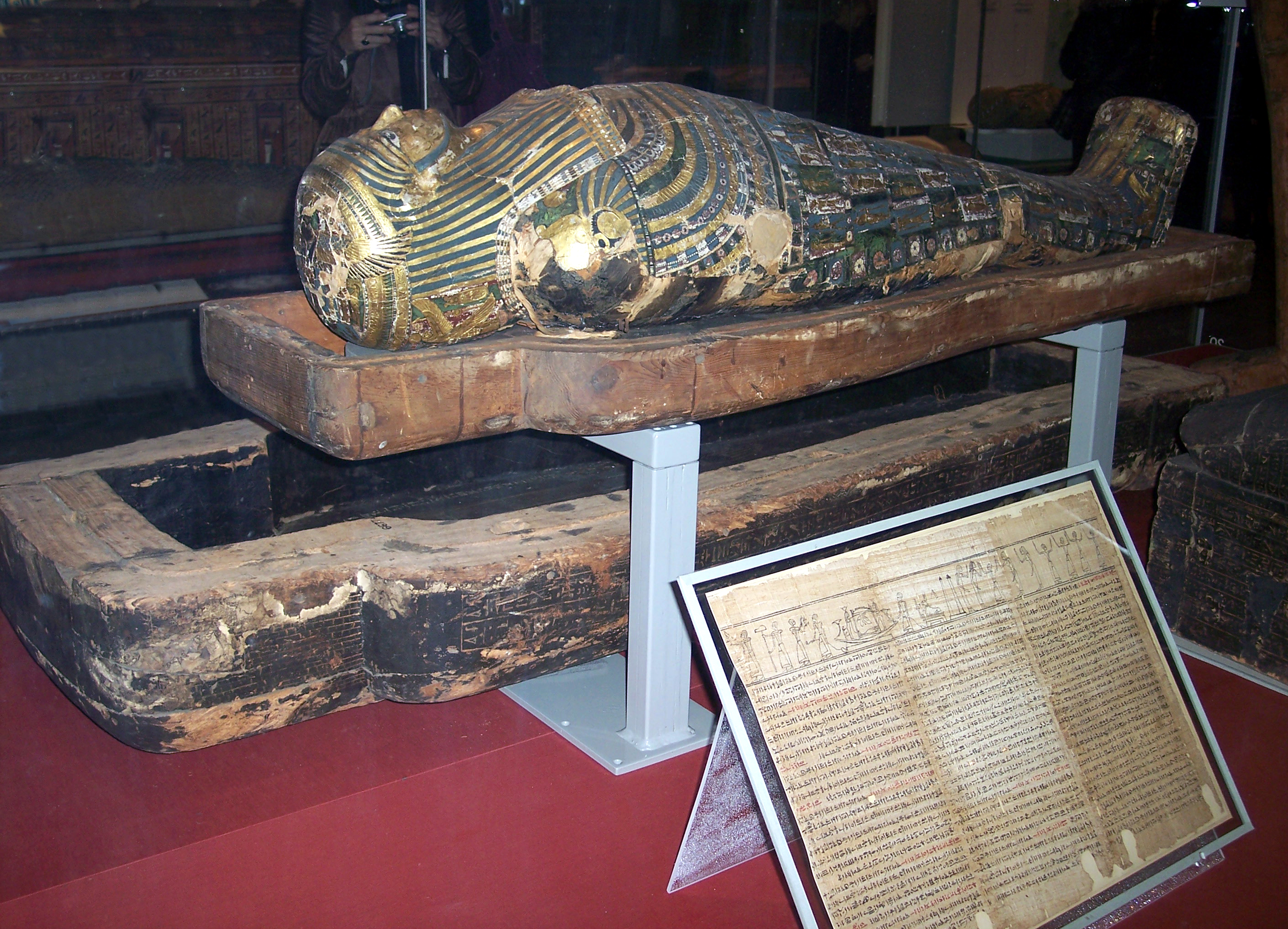 how to make a mummy coffin