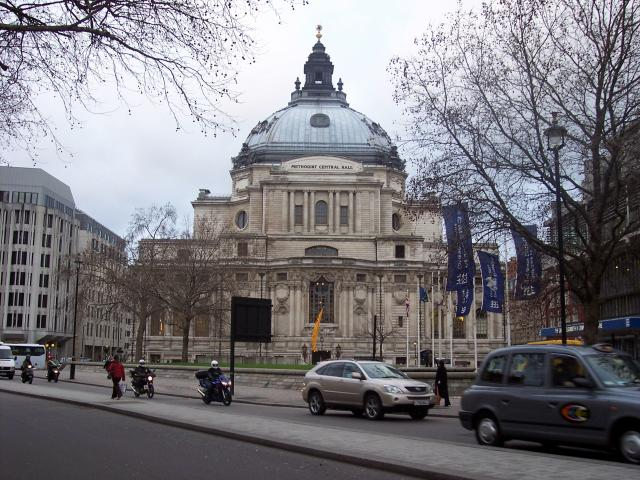 Methodist Central Hall front, London