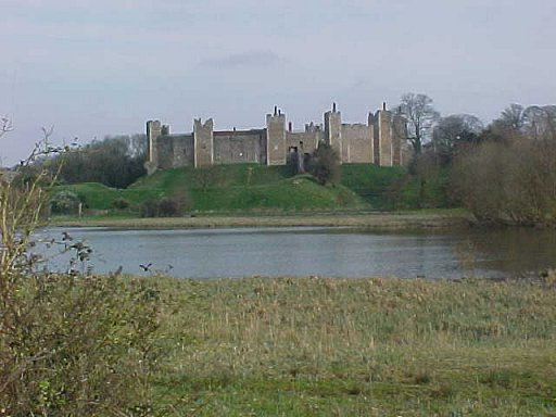 Photogaphs of the exterior of Framlingham Castle, Suffolk. The castle was built in the late 12th century by Roger Bigod, Earl of Norfolk. The castle is noted for its curtain wall and mural towers. The castle was at the centre of the struggle between the Bigod earls and the crown, in particular Henry...