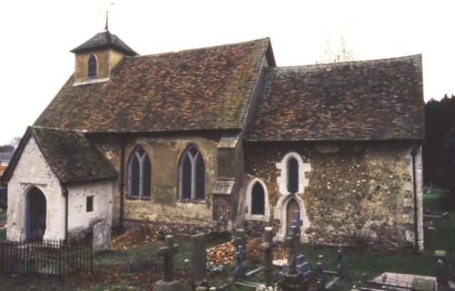 The eleventh- to twelfth-century church at Letchworth, Hertfordshire