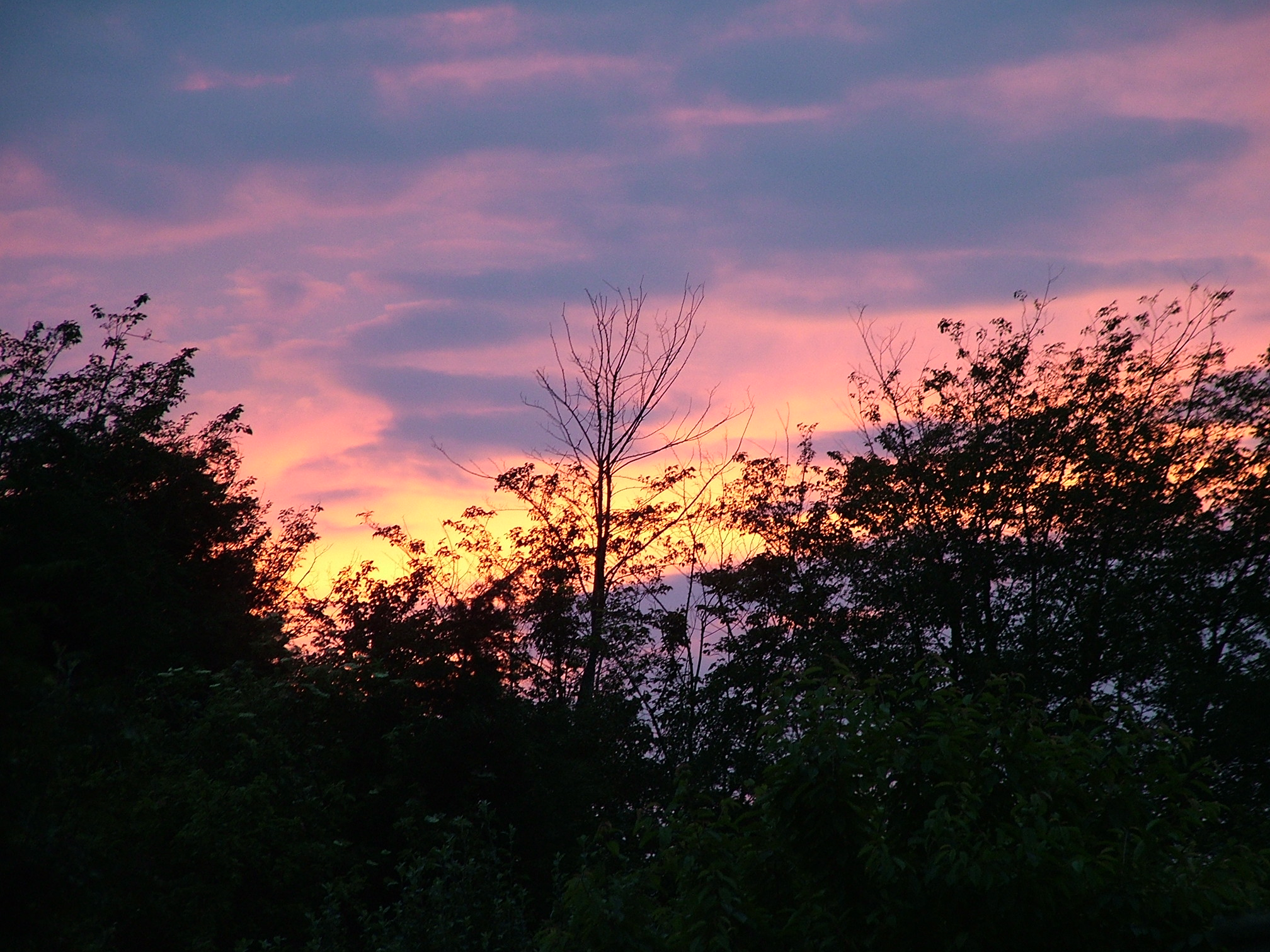 Sunset 17 June 2007 in Suffolk taken at approx 9.15pm