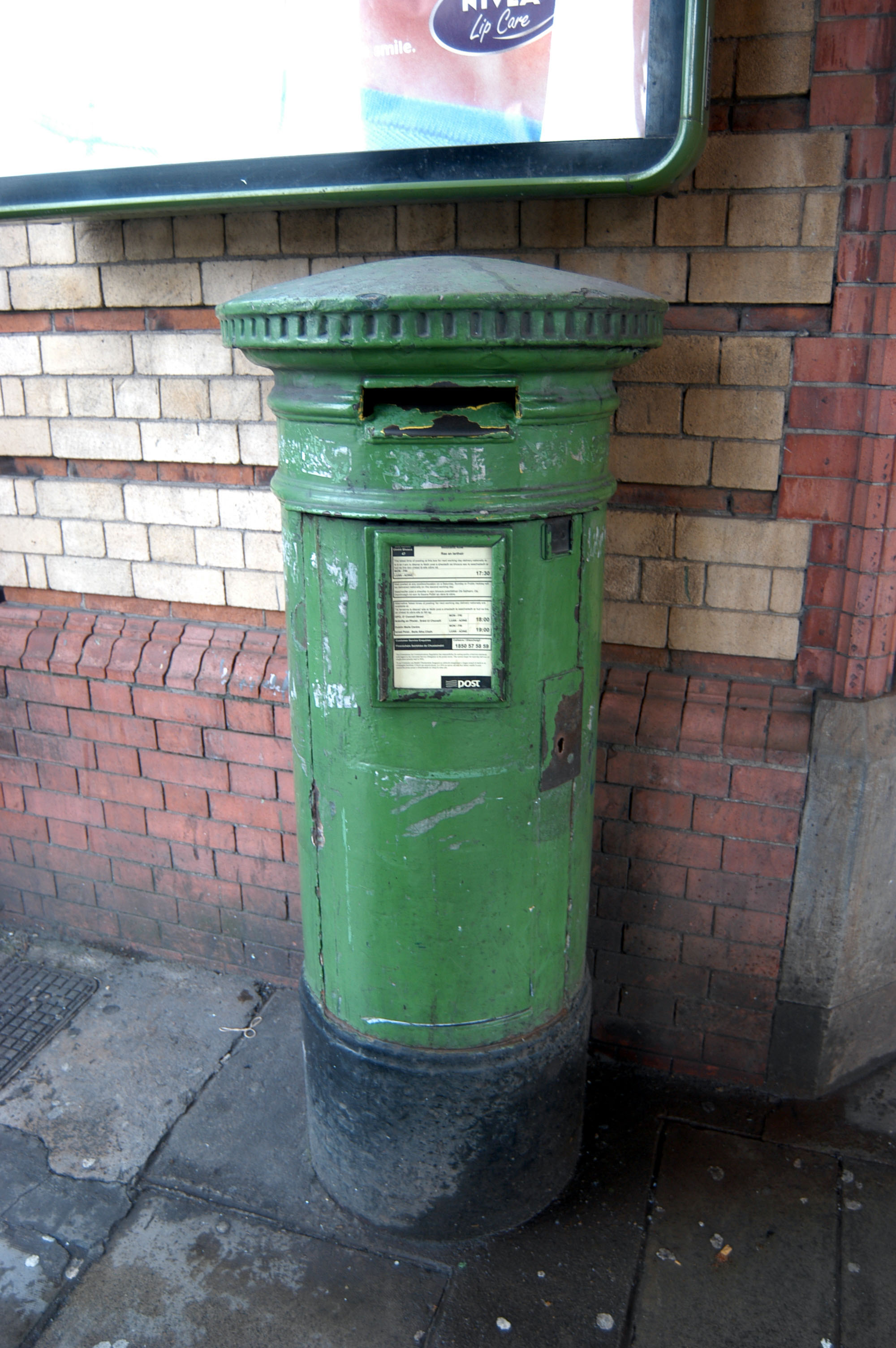 Green Pillar Box. Dublin, 2005.