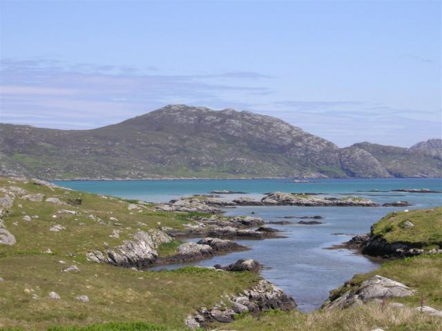 Frances Watts visited the Outer Hebrides on a bird watching holiday, but the landscapes were just too much to ignore and she offered to share them with us.