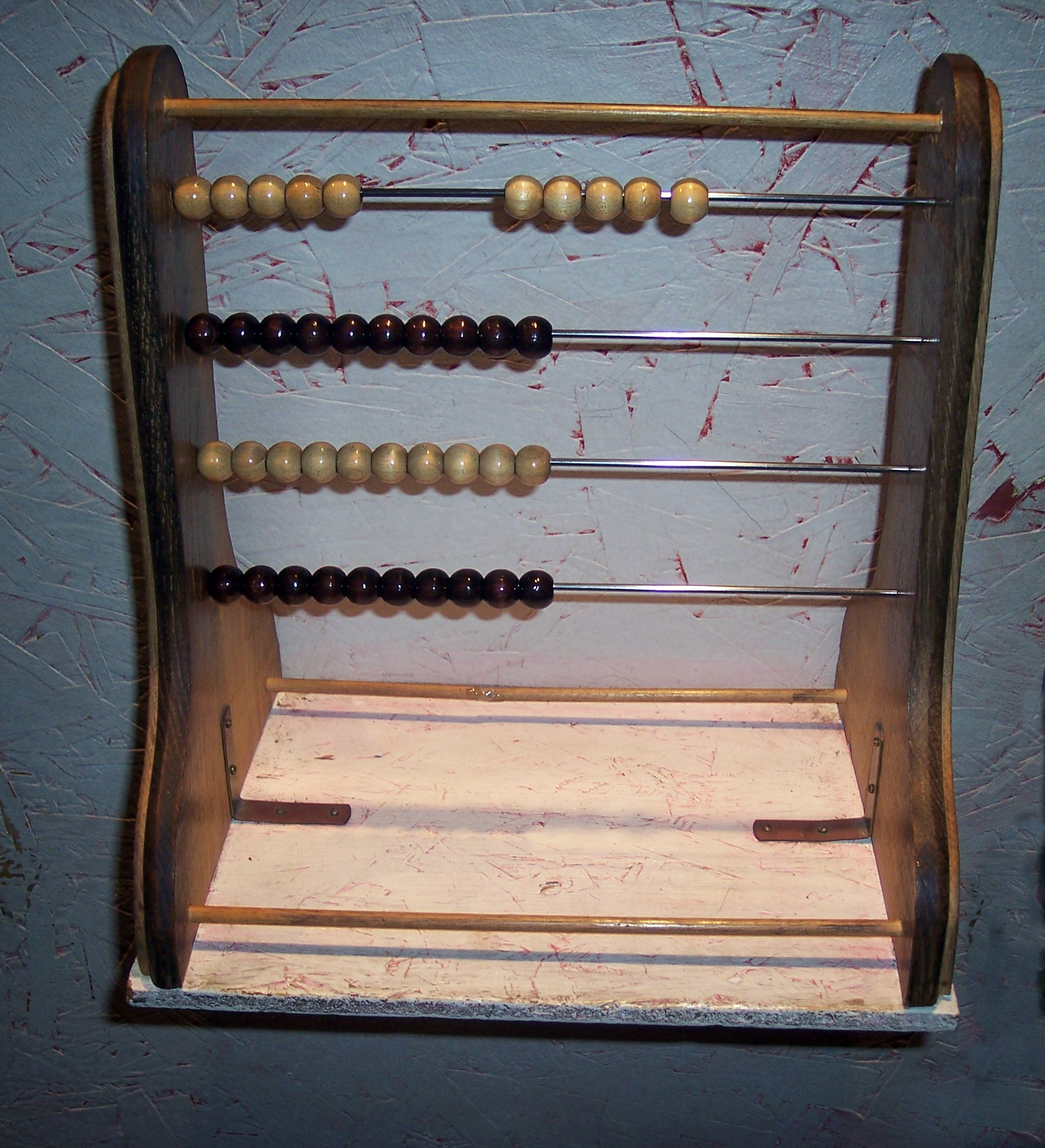 Roman Abacus Of a roman abacus.