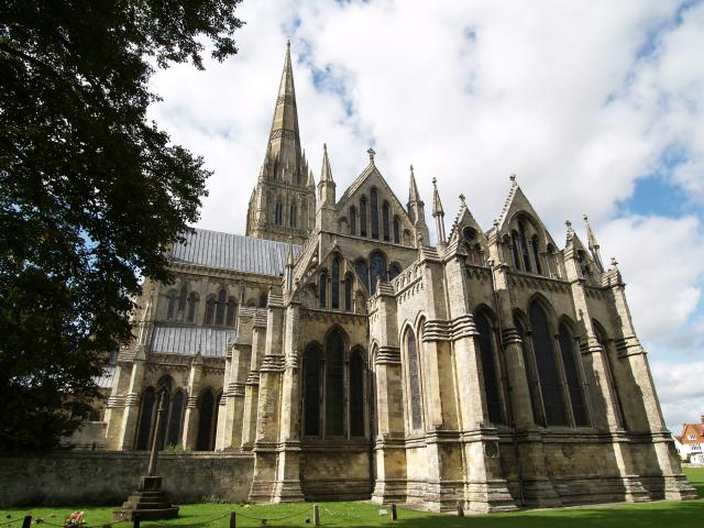 Views of Salisbury Cathedral