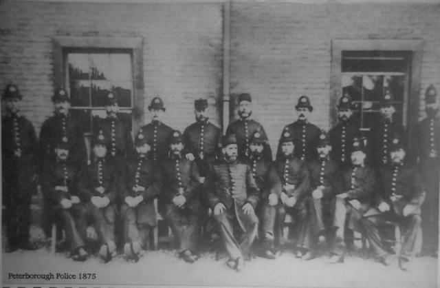 The local force in 1875.