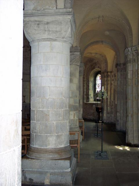 The Chapel takes up the south-east corner of 2 floors of the White Tower. It is of early date (circa 1080) and in perfect condition. It measures 55 feet 6 ins long by 31 feet wide, and has a nave and aisles of four bays. The heavy round columns carry carved capitals, some of which bear a T-shaped fi...