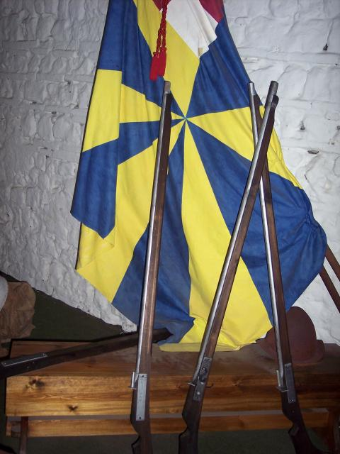 Picture taken at Colchester Castle Museum June 2007.