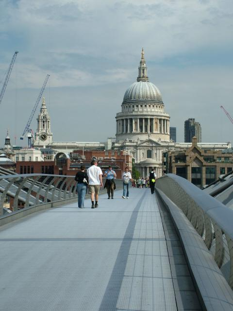 Views of St Paul's Cathedral, London
