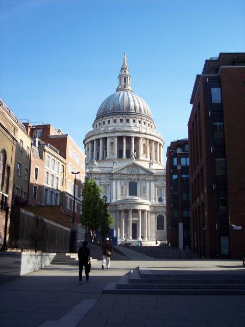 LGfL Gallery St Paul's Cathedral - South Facade