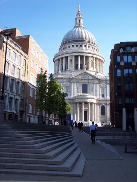 St Paul's is a magnificent Baroque church designed by the court architect Sir Christopher Wren in 1673. The current Cathedral is the fourth to occupy this site and was built between 1675 and 1710 after its predecessor was destroyed in the Great Fire of London. The first service took place in this bu...