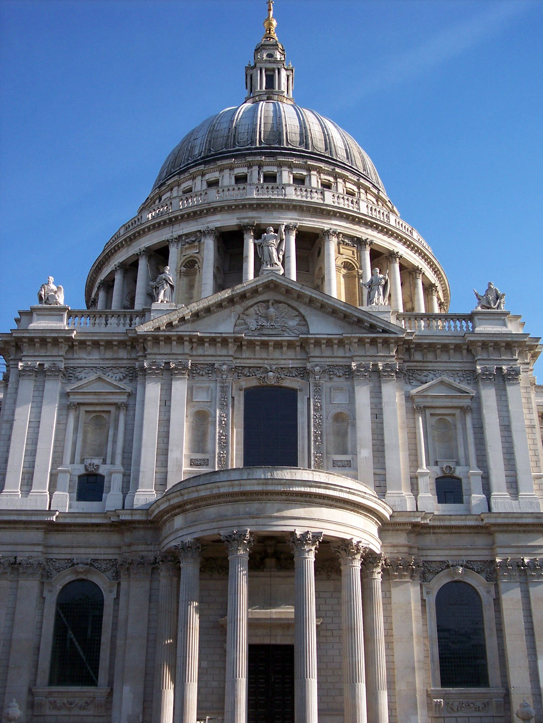 St Paul's Cathedral - South Facade : NEN Gallery