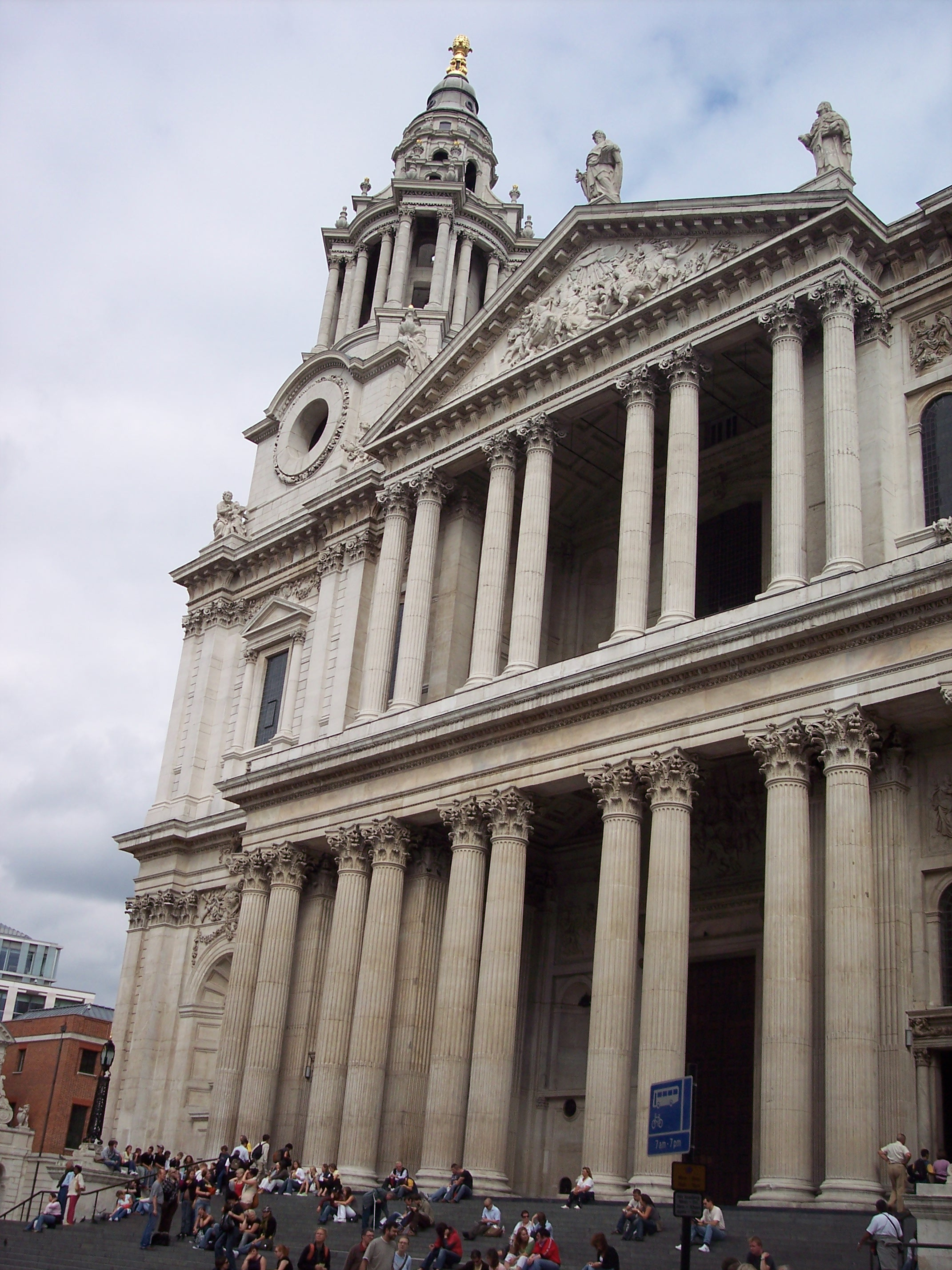 St Paul's Cathedral - West Facade : NEN Gallery