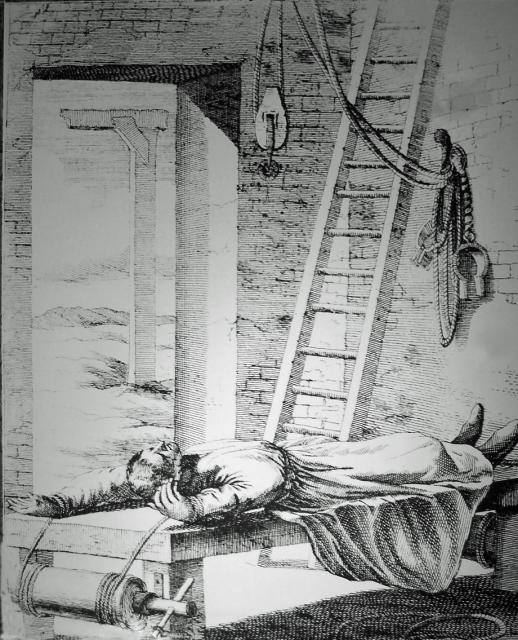 Probably the most infamous and most widely used instrument of torture, the rack dates back to the ancient Greeks. There are few records of its use before the Middle Ages but, during the Spanish Inquisition from the middle of the 13th century onwards, there was an increase in its use. At the Tower of...