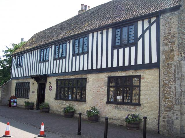 Oliver Cromwell's family home with period rooms and displays depicting Cromwell, life in his times and the Civil War. Picture taken 6th May 2007.