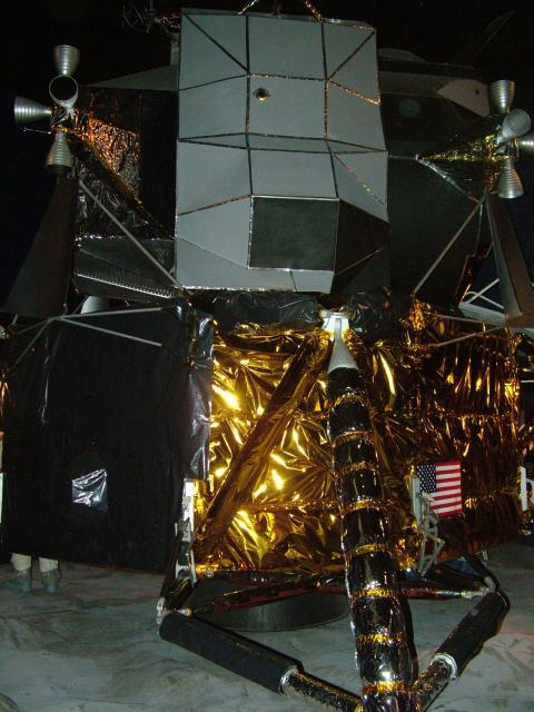 "The Apollo Lunar Module was the lander portion of the Apollo spacecraft built for the US Apollo program to achieve a way of getting from a moon orbit to the surface and back. The module was also known as the LM but pronounced ""LEM"" from NASA's early name for it, Lunar Excursion Module.